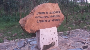 A Memorial Garden was put in palce soon after the genocide in the spot where the three thousand were murdered.